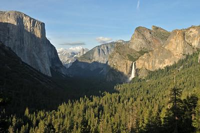 Last views before leaving Yosemite valley - Bridalveil Falls