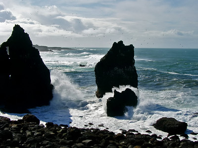Our third day on Iceland - first time that it's not raining too hard to take pictures...