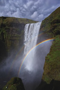 Skógafoss Rainbows