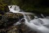 Kittitas, Kachess Beacon - Multi-tier waterfall along the side of the trail