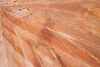 Valley of Fire, Kaolin Slot Canyon - Lines and stripe patterns in sandstone