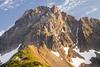 North Cascades, Cascade Pass - Mixup Peak with evening light