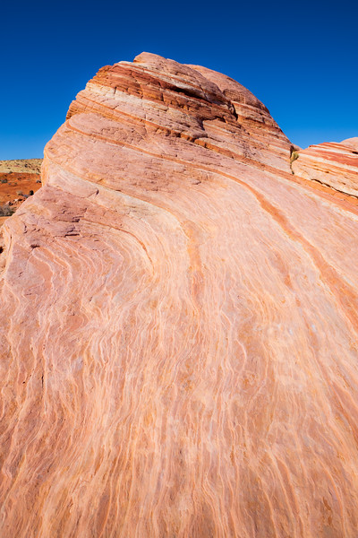 Valley of Fire, Fire Wave - Intricate patterns at Fire Wave