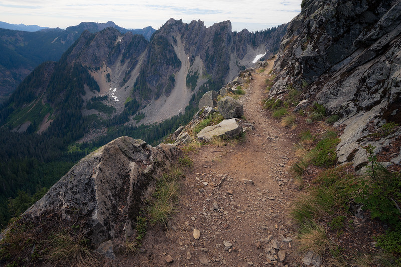 Snoqualmie Pass, PCT North - Approaching Kendall Katwalk from the north