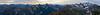 Whatcom, Winchester Mountain - Panorama of Silesia Creek, Shuksan, and many distant peaks