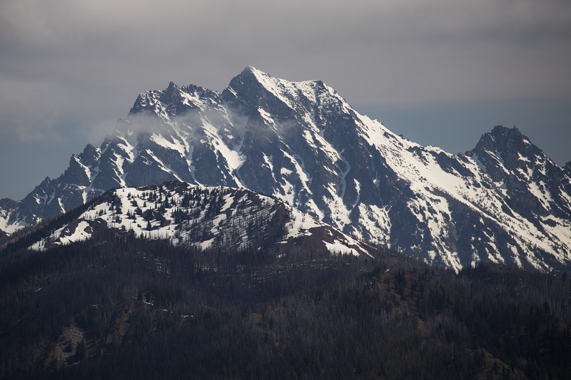 Kittitas, Mt. Baldy - Mt. Stuart with front range