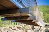 Western, Kootenai Falls - Underside of the suspension bridge