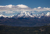 Kittitas, Peoh Point - Mt. Stuart under clouds with ridge in front