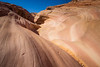 Valley of Fire, Pink Canyon - Close up of wave patterns