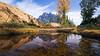 Stuart, Ingalls - Small pond with Mt. Stuart reflected