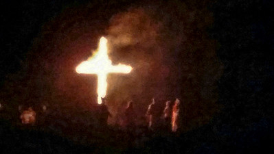 Klan rally, southern Appalachia, October 2014