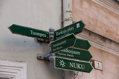 Anywhere you want to go. Tallinn, Estonia.
