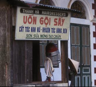 Hairdresser, Sa Pa, Vietnam.