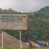 Road sign near the Guatemala/El Salvador border.