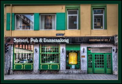 Oslo, Norway pub.