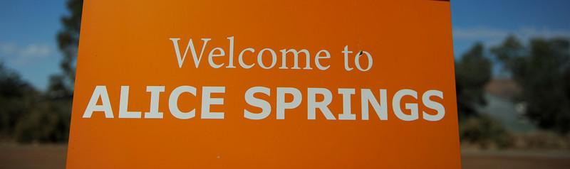 Alice Springs, Australia.
