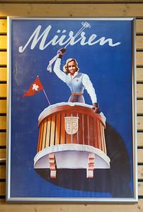 """Mürren Switzerland. I've no idea why it says """"Kandahar"""" along the bottom of the balcony."""
