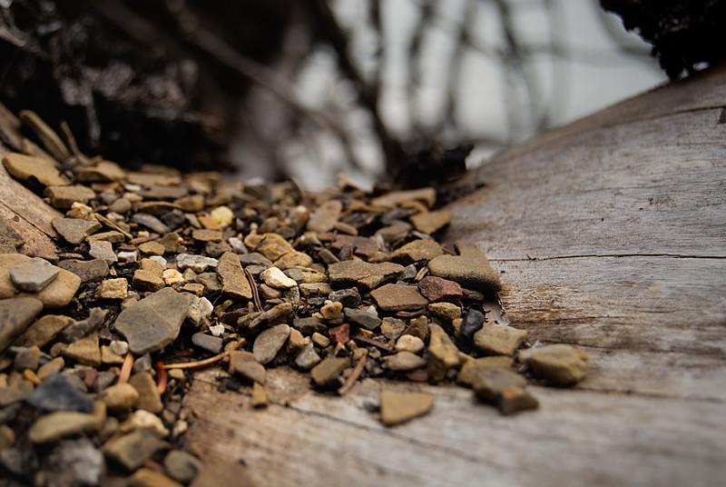 Pebbles & Wood