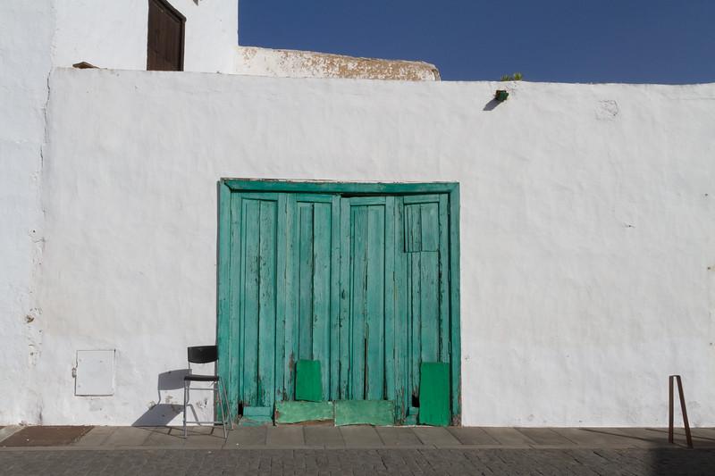 Door and Chair