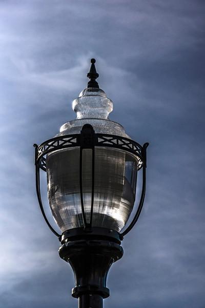 D324-2013  Side lighting on the globe of a light standard.<br /> <br /> Taken November 20, 2013