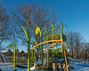 D062-2018<br /> New playground area<br /> <br /> Gallup Park, Ann Arbor<br /> Taken March 3, 2018