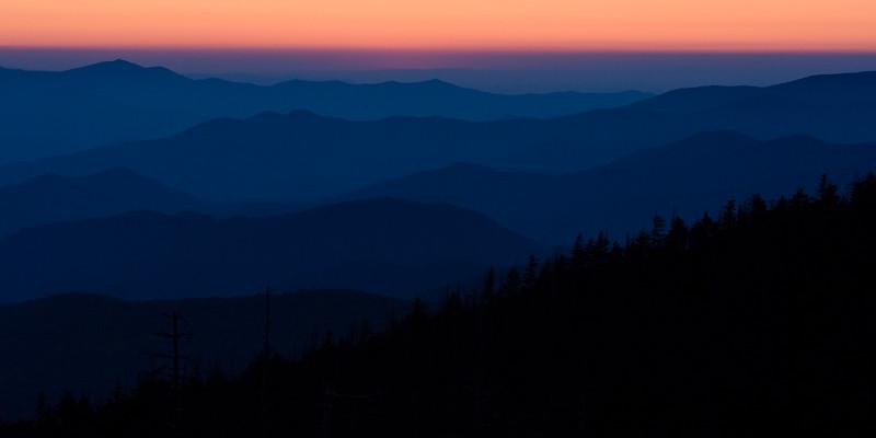 "Sunset ""After Light"" at Clingmans Dome - Great Smokies National Park, NC"