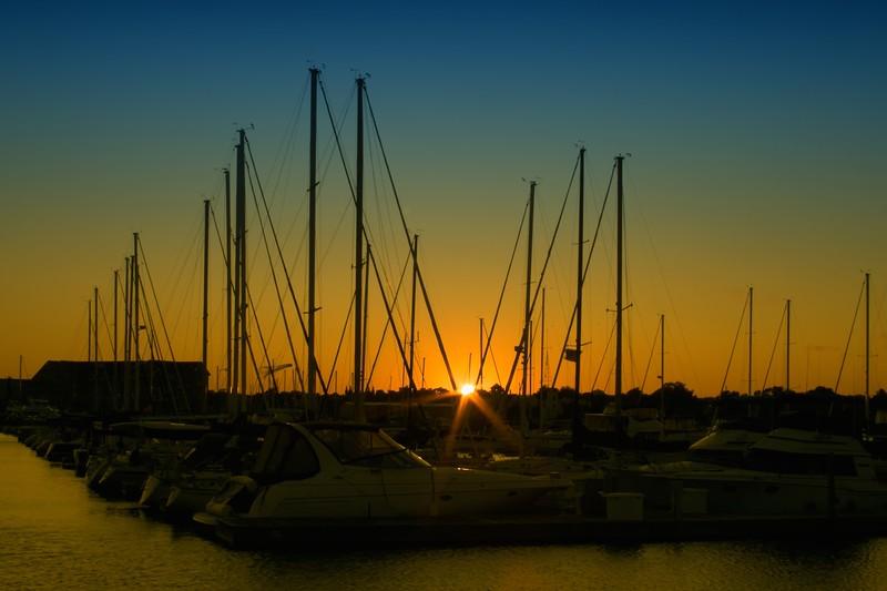 Shipmast Sunset