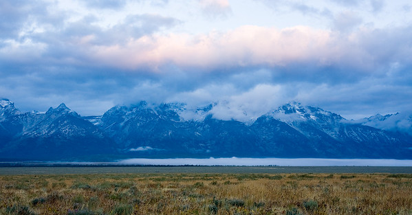 Sunrise from Antelope Flats Road - Grand Teton National Park, WY