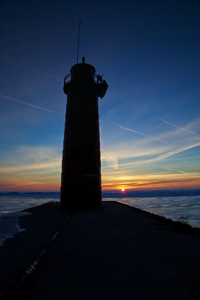 Lighthouse Silhouette 2
