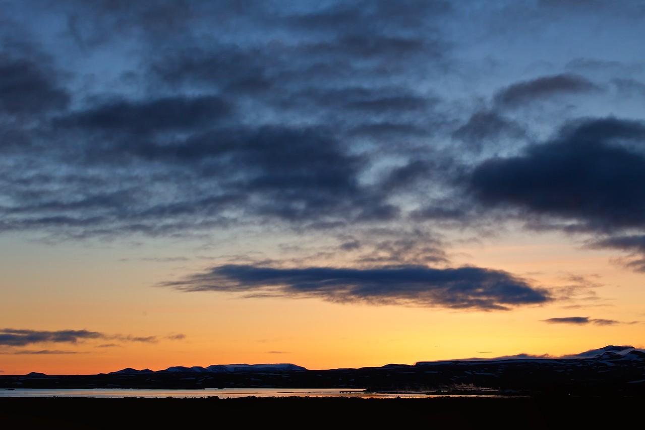 Mývatn Sunset