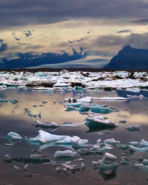 Iceberg Twilight