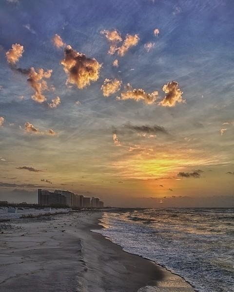 Orange Beach Sunrise 10
