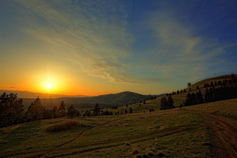 Mount Jumbo Sunset