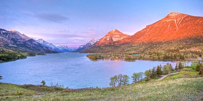 Dawn at Waterton Lake