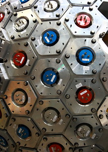 Particle detector at TRIUMF.