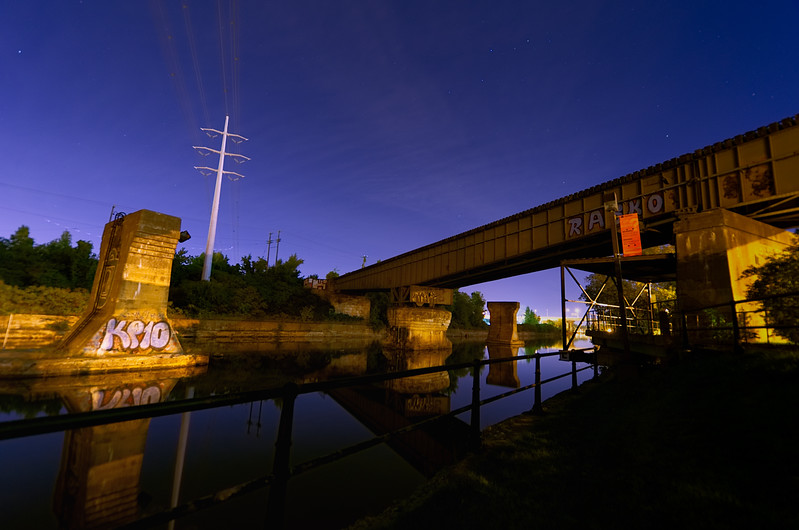 Still Night on the Canal
