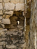 Details of a ruined wall just east of the intersection of Ulica Ivana Tanzlingera Zanottija and Ulica Grgura Mrganića.<br /> <br /> Zadar, Croatia (Old Town)