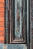 D325-2013  Side panel of door frame<br /> <br /> Jackson, Michigan train depot, ca. 1873<br /> Taken November 21, 2013