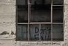 """Don't Fall""<br /> <br /> Derelict hydroelectric plant of the defunct Peninsular Paper Company.<br /> Huron River, Ypsilanti, Michigan."