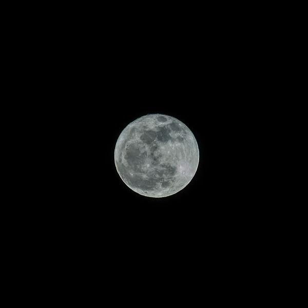 Full moon, December 2012