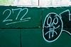 Graffiti '272'<br /> Nichols Arboretum,<br /> Ann Arbor, Michigan<br /> May, 2011