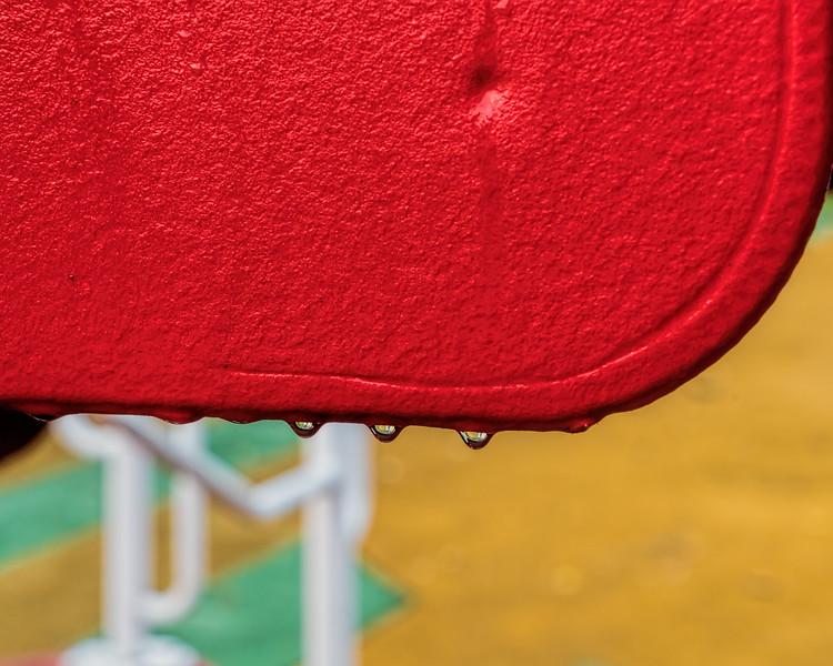 Red, yellow, green - playground scene