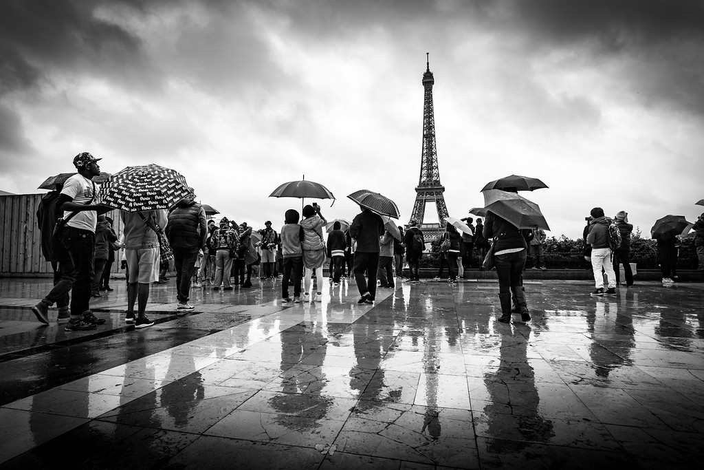 A rainy day in Paris