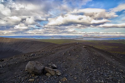 Hverfell and Mývatn