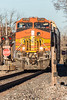 417-8935 Model ES44AC, BNSF 4729 at Richmond, Texas, February 22 2017