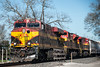 417-8898 Model C44-9W, KCS 4726 at Richmond, Texas, February 22 2017