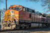 417-8924 Model ES44AC, BNSF 4729 at Richmond, Texas, February 22 2017