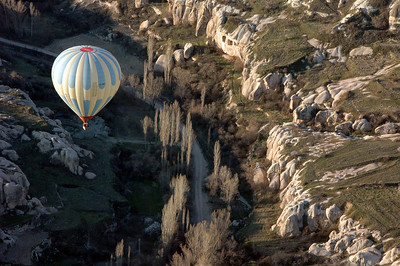 Kapadokya Balloons' daily dawn flight. Cappadocia, Turkey.