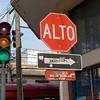 Do you Alto or go on green? Guatemala City, Guatemala.