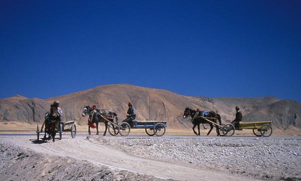 Transportation, Tinggri, Tibet.